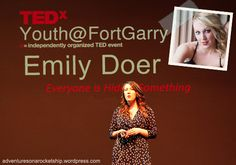 Emily Doer is the daughter of Gary Doer, ambassador to the USA and former premier of MB. As a teen, Emily struggled with bulimia, but at 21 she decided to take control back. With the help of the Health Sciences Centre - Adult Eating Disorders Program she was able to overcome anorexia and bulimia. Wanting to give back, she launched a campaign called 'tea for E|D' to raise money and awareness about eating disorders. 450 attended and raised $33,000 for the HSC Foundation… Anorexia, How To Raise Money, Disorders, The Help, Centre, Foundation, Campaign, Daughter, Teen