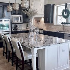 Match Your Sweet Home Sweet Home, Cuisines Design, Beautiful Kitchens, Style At Home, Home Remodeling, Kitchen Remodeling, Remodeling Contractors, Home Kitchens, Black Kitchens