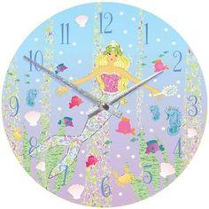 Mermaid Clock - children's room