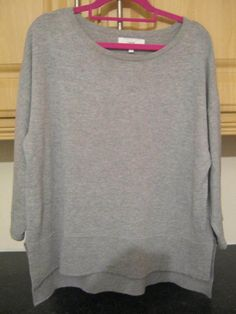 Next Ladies/Womens Grey jumper/Top Size 10 Excellent Condition Tailored Trousers, Grey Top, Jumper, Women's Clothing, Size 10, Beige, Coats, Sweatshirts, Lady