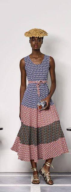 Duro Olowu,Nigerian designer based in London -Spring / Summer 2018.