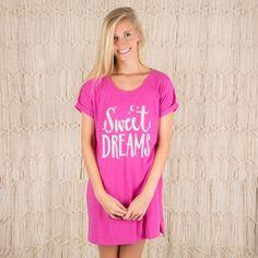 Night Shirt - Pink