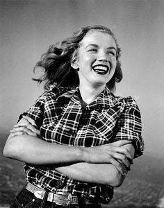 """Marilyn Monroe photographed by Joseph Jasgur. """
