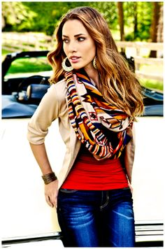 new Body Central scarves