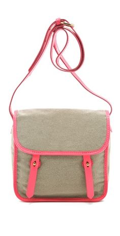 Canvas Neon Bag