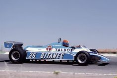 jean pierre Jabouille .. (jarama 1981)  His last race before retiring from Formula one