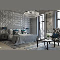Sophisticated Bedroom Design Ideas By Jo Hamilton Design Studio Interior Design Business, Residential Interior Design, Interior Design Companies, Interior Design Studio, Luxury Interior Design, Classic Interior, Interior Modern, Kitchen Interior, Gray Bedroom