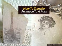 How To Transfer An Image To A Rock - must click the link that says 'Playing With Rocks' to get the instructions.