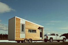 tiny house town mid century modern tiny home 170 sq ft, world of architecture portable home small house living, 200 sq ft modern tiny house on wheels for sale, gallery a modern prefab cottage small modern, Tiny House Luxury, Modern Tiny House, Tiny House Design, Modern Houses, Tiny House Family, Tiny House Living, Tiny House Movement, Tiny Houses For Sale, Tiny House On Wheels
