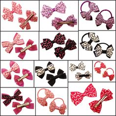 Girls hair bows and accessories handmade in the UK at dreambows.co.uk