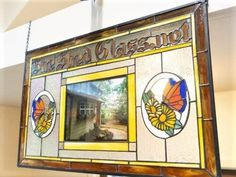 Stained Glass by Rosemary Doran - Arts & Crafts Ideas Rapid Resizer, Stencil Painting, Pencil Drawings, Stained Glass, Stencils, Arts And Crafts, Frame, Artist, Projects