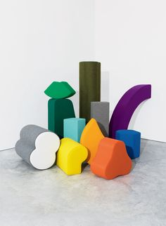 color sculpture