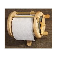 River's Edge Unique Deluxe Wood Fishing Reel Toilet Paper Holder $14.66  Ladies, you know he is going to love this item.  What a great gift idea!