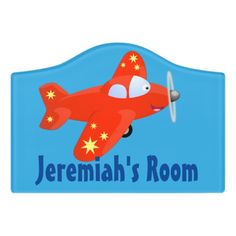 $14.46 | Cute red airplane flying cartoon illustration #plane #airplane #cute #cartoon #funny #aviation #flying #aircraft #pilot #flight Kids Door Signs, Aviation Humor, Airplane Flying, Foam Adhesive, Office Signs, Dry Erase Board, Room Signs, Acrylic Material, Make Your Mark