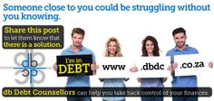 The Legal process of Debt Counselling allows you to pay lower installments and negotiate lower interest rates on your debt. Take Back, Embedded Image Permalink, Debt, Counseling, South Africa, Finance, Let It Be, Economics, Therapy