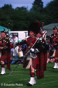 INGLATERRA Escocia gaitero 3-imp