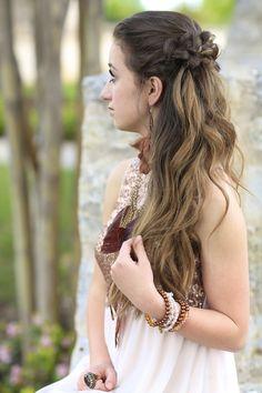 Coachella Braids/Prom style  #cutegirlshairstyles #promhairstyle #coachellahairstyle #hairstyles #hairstyle #braids