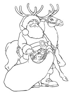 Christmas Coloring Page - Print Christmas pictures to color at AllKidsNetwork.com