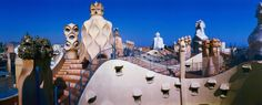 I'm having Barca withdrawals today.    (Rooftop of La Pedrera, Barcelona, Spain)