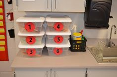 An adapted version of Teaching in Room 6's Test Prep Stations
