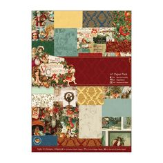 A5 Paper Pack (42pk) - Victorian Christmas