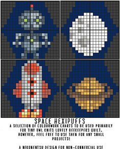 A Selection of Hexipuffs: Space Invaders!