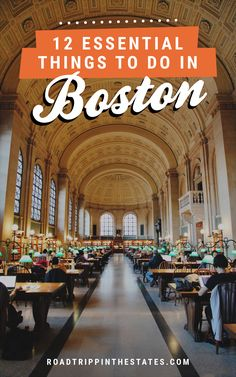 essential things to do in Boston 12 essential things to do in Boston! Click through for our city guide on Road Trippin' The essential things to do in Boston! Click through for our city guide on Road Trippin' The States East Coast Travel, East Coast Road Trip, Boston Vacation, Boston Day Trip, Boston Shopping, Boston College, Vacation Spots, Boston Travel Guide, Boston Things To Do