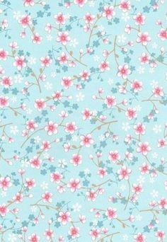 Eijffinger PIP studio behang Cherry Blossom licht blauw - IKenIK.nl