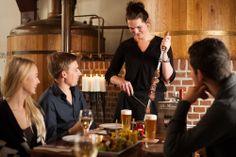 Dineren met huisgebrouwde biertjes van Stadsbrouwerij De Hemel.