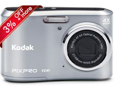 Last 5 seats, less than 27 Hrs. left, Rs. 700/- only for Kodak Pixpro FZ41 Digital Camera. HURRY!! http://www.dealite.in/Auction/Kodak-Pixpro-FZ41-Digital-Camera/DEAL09112135  * FREE: 4GB Card + Camera Case * Original, box packed and with 1 year manufacturer's warranty * 16 Megapixel Camera * CCD Image Sensor * 4X Optical Zoom * 720 p HD Video * 2.7 inch LCD * 27 mm Wide Angle