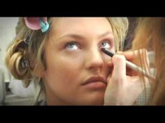 Victoria's Secret - Painting an Angel, Makeup Application