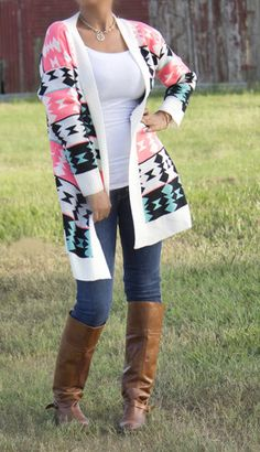 Bright Colors for Fall . Oversized Cardigan. Fall outfit