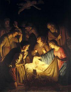 coriesu:   Adoration of the shepherds Gerrit van... - CarolinaBlues