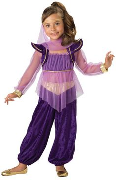 Girls Dreamy Genie Kids Costume