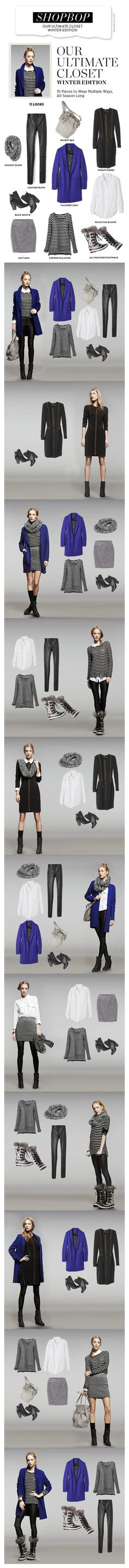 Shopbop «Our Ultimate Closet – Winter Edition»