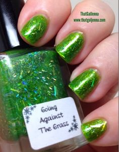 ThatGalJenna - Big Spoon Lacquers - Going Against the Grass inspired by A Bug's Life