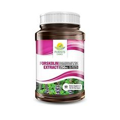 100% Pure Forskolin Extract 250 mg, Weight Loss Supplement, 60 Capsules -- See this great product. (This is an Amazon Affiliate link and I receive a commission for the sales)