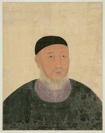 Portrait of official from Korea's Goryeo period. This man lived from 1304-1382, 100 years before Columbus even discovered America! @_@