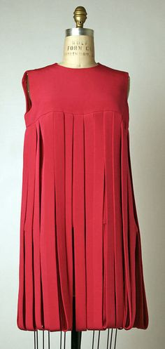 """Car Wash"" Dress Pierre Cardin, 1966 The Metropolitan Museum of Art"