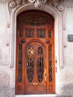 Art Nouveau Door Barcelona