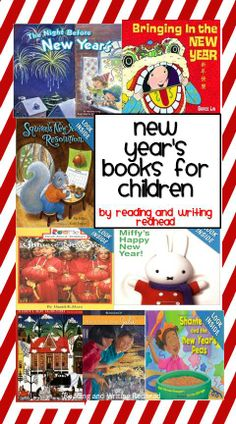 New Year's books for children - ideas also for Chinese New Year.