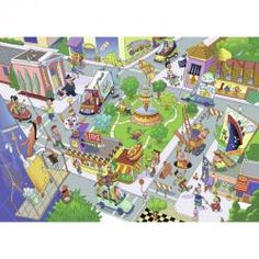 RAVENSBURGER 35PC PUZZLE - BUSY CITY
