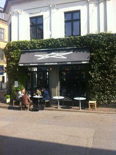 Café Drudenfuss in Aarhus.