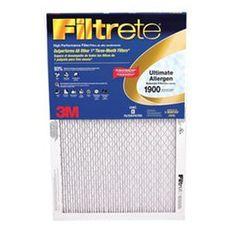 Filtrete (Common: 10-In X 18-In X 1-In; Actual: 9.875-In X 17.875-In X