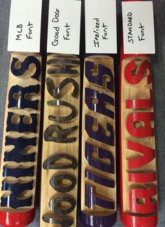 Personalized Baseball Bat by WoodRushSigns on Etsy Baseball Quilt, Espn Baseball, Baseball Scoreboard, Baseball Videos, Baseball Scores, Baseball Helmet, Chicago Cubs Baseball, Tigers Baseball, Baseball Gifts