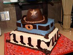 Cowboy cake.