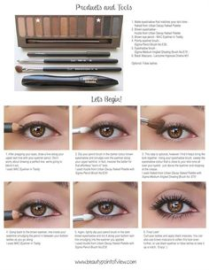 Eye Makeup Tutorial - Head over to Pampadour.com for product suggestions to recreate this beauty look! Pampadour.com is a community of beauty bloggers, professionals, brands and beauty enthusiasts! #makeup #howto #tutorial #beauty #smokey #smoky #eyes #eyeshadow #cosmetics #beautiful #pretty #love #pampadour
