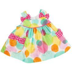 Bonnie Baby Infant Girl Circle Print Sundress #VonMaur