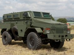 An OTT Technologies Puma 36 armoured vehicle: Dyncorp rolls out first 16 armoured personnel carriers for UN mission in Mali