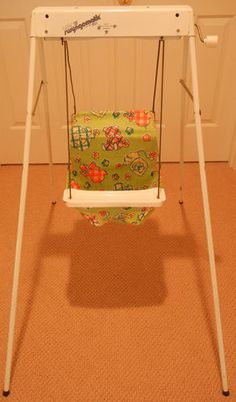 Graco Swyngomatic Baby Wind Up Swing Antique Infant Seat | eBay